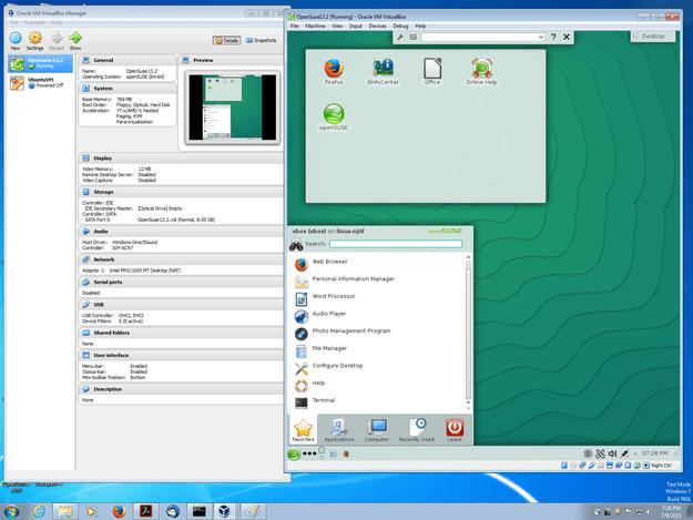 VirtualBox 5.0